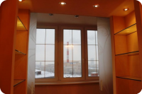 балкон, объединение