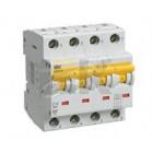Автоматические выключатели ВА47-29 характеристика С 4-ПОЛЮСНЫЕ