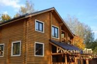 Дом из оцилиндрованного бревна - построить или купить?