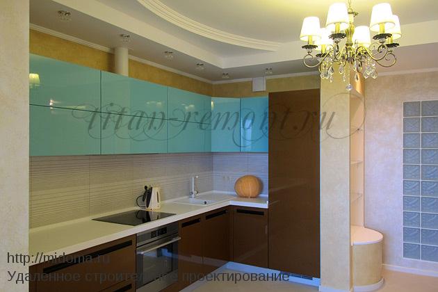 Дизайн кухни с эркером в домах серии п 44т