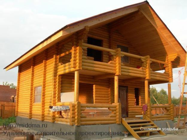 Фото эксклюзивных деревянных домов
