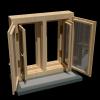 Макет Окна. Визуализация в программе Blender 3D.