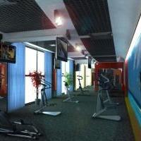 Фитнес центр: зал кардотренажёров