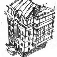 эскиз жилого дома реконструкция