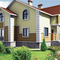 Жилой дом в Челябинской обл. п. Аша