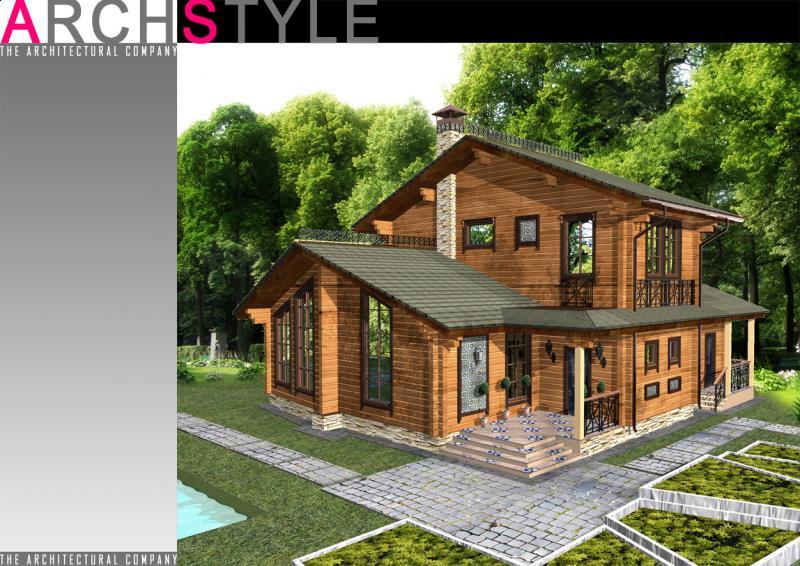 Модель загородного дома в подмосковье