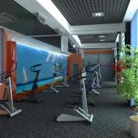 Финес центр: зал кардиотренажёров