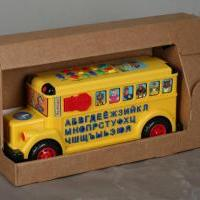"""Упаковка для развивающей игрушки """"Автобус"""""""