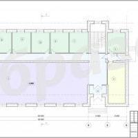 план офисного здания
