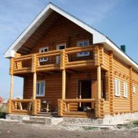 Оцилиндрованные дома