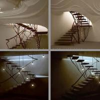 Скульптурное решение плафона и лестницы. Эйндховен
