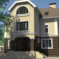 Проект реконструкции жилого дома в Коломенском районе Московской области.