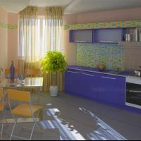 Визуализация кухни.
