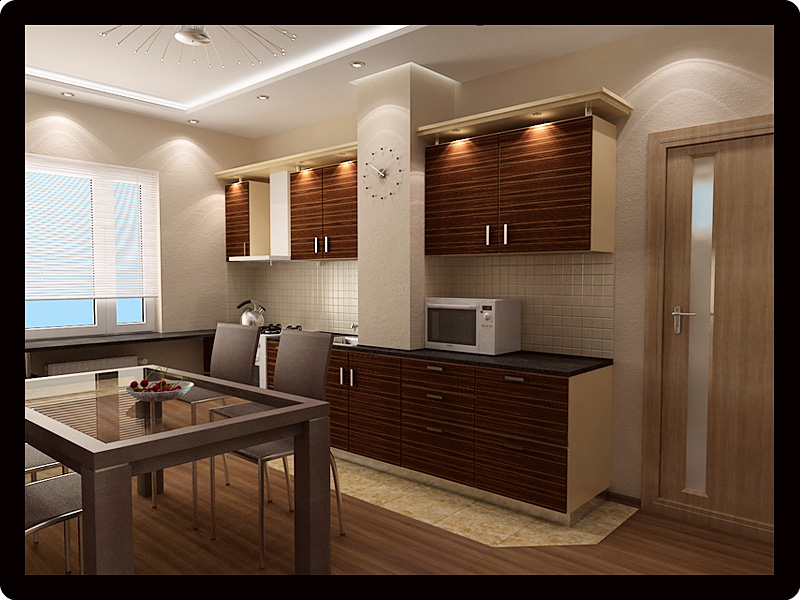 кухня в 2-х комнатной хрущевке фото