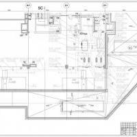 план венткамеры с оборудованием системы холодоснабжения 1