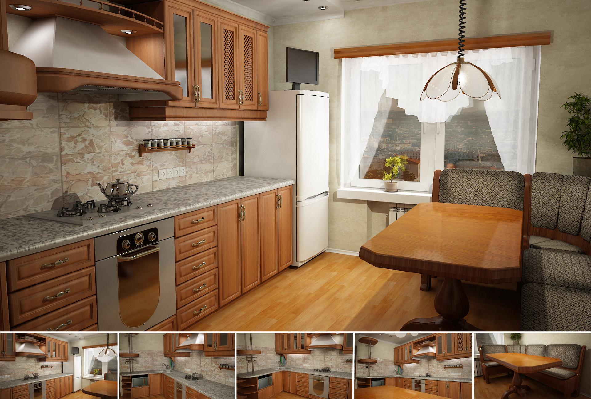 Как самому сделать дизайн кухни (51 фото) 20